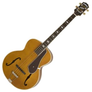 Epiphone De Luxe Classic Electro Acoustic Bass Vintage Natural for sale