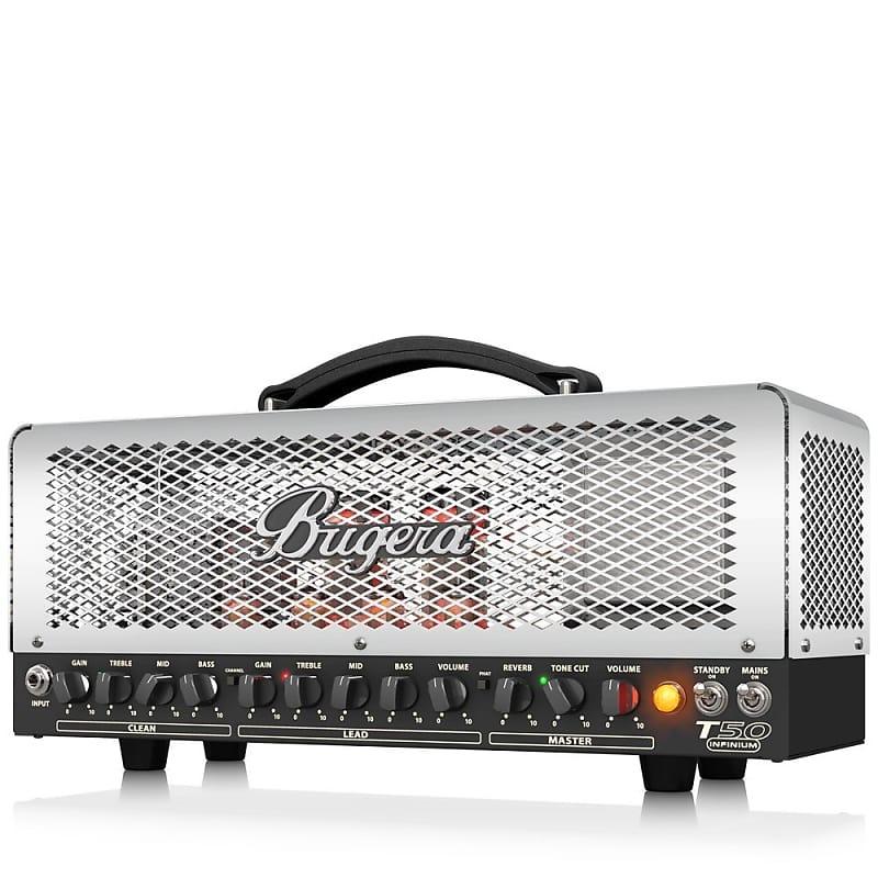 Bugera T50INFINIUM Infinium 50-watt 2-channel Class-A Tube | Reverb