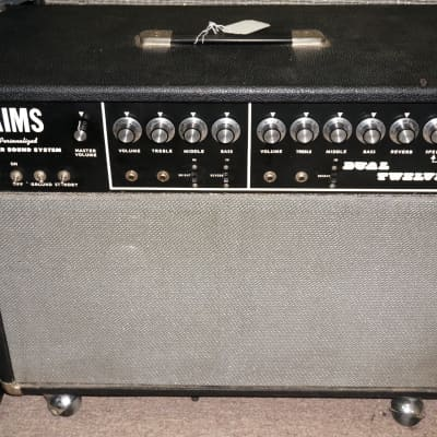 Aims Dual Twelve 12 2x12 212 Combo Guitar Amplifier - Local Pickup Only for sale