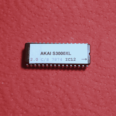 Akai S3000XL Sampler OS v2.0 EPROM Firmware Upgrade kit