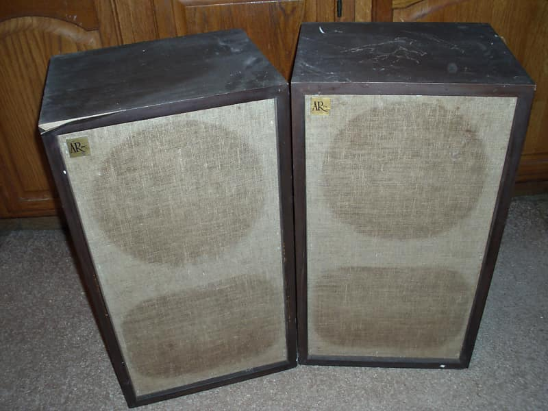 Acoustic Research AR-2ax pair for parts or restore
