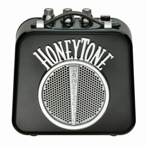 Danelectro Honeytone N-10 Guitar Mini Amp, Black with belt clip for sale