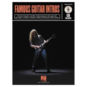Hal Leonard Famous Guitar Intros - 3rd Edition