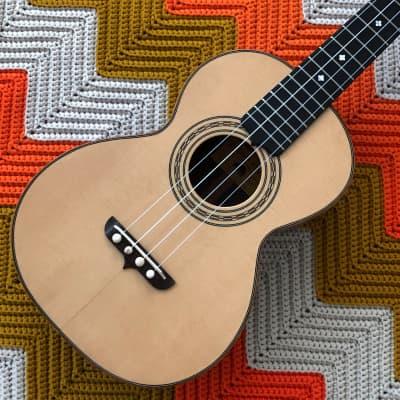 Black Bear Tenor Ukulele - Made in Yakima, Washington!! - STUNNING Handmade Instrument in Near Mint Condition!!  - for sale