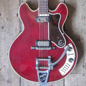 EPIPHONE AL CAIOLA CUSTOM CHERRY - 1965 - EX SIR BRADLEY WIGGINS - RARE! for sale