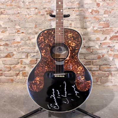 Epiphone Everly Brothers SQ-180 signed by Chrissie Hynde 1991 for sale