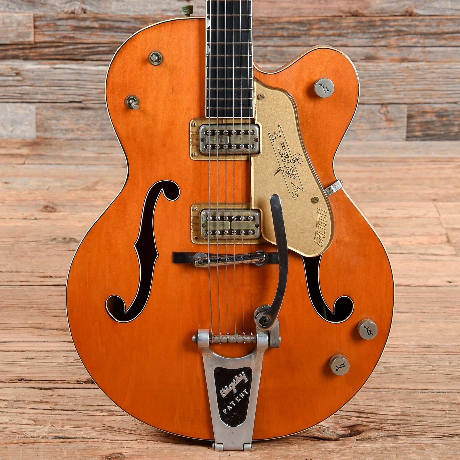 Gretsch 6120 Chet Atkins Hollowbody Orange 1958