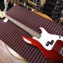Fender Standard Precision Bass 1989 Candy Apple Red image