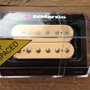 DiMarzio Tone Zone F-Spaced BRIDGE Humbucker Pickup Creme DP155FCR Cream