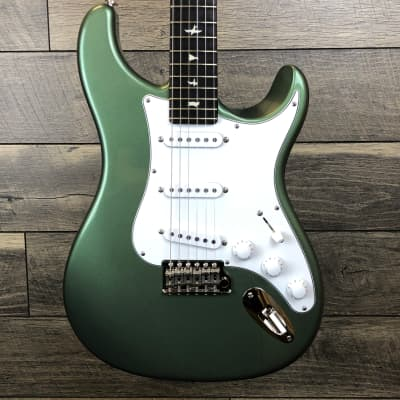 In stock and ready to ship! Paul Reed Smith Silver Sky John Mayer Signature Orion Green