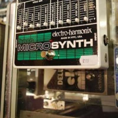Electro Harmonix Bass MicroSynth Guitar Pedal for sale