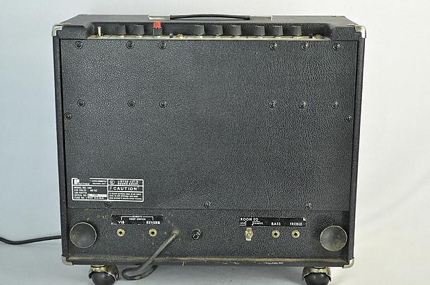 polytone model 102 electric jazz guitar amplifier 1970s joe reverb. Black Bedroom Furniture Sets. Home Design Ideas
