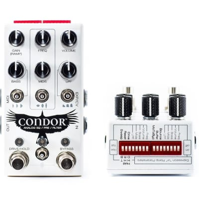 Chase Bliss Audio Condor Analog EQ/Pre/Filter (Authorized Dealer)
