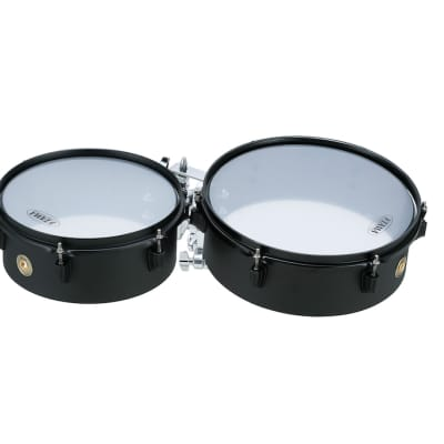 Tama Metalworks Effect Series Mini-Tymp 10x4 and 12x4 - Matte Black