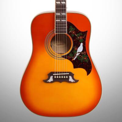 Epiphone Dove PRO Acoustic-Electric Guitar, Violinburst for sale