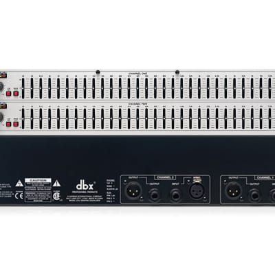dbx 231s Dual Channel 31-Band EQ