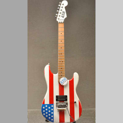AXN™ SunsetStrip™ Guitar USA Flag for sale
