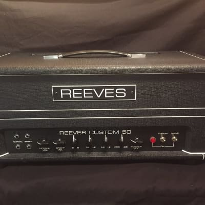 Reeves Custom 50 Head Amplifier - Mint - for sale