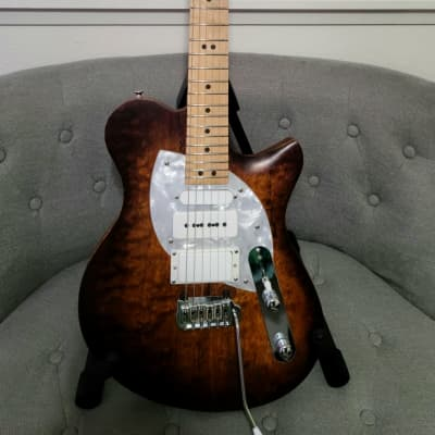 2018 Malinoski Tattoo Tele Style Electric Guitar USA Handmade for sale