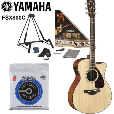 Yamaha FSX800C Acoustic-Electric Guitar 2020 Natural