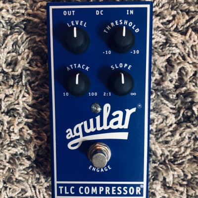 Aguilar TLC Bass Compressor Pedal with Box/Manual Excellent Condition for sale