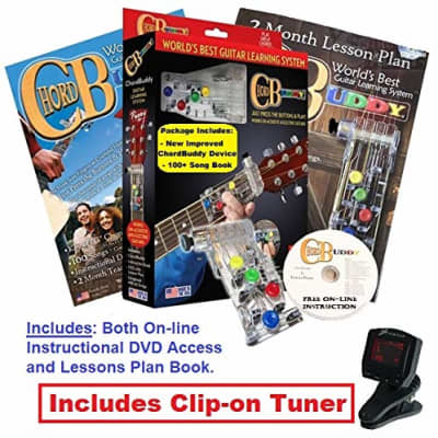 Chord Buddy Canada Right Hand Guitar Learning System Package With Digital Tuner for sale