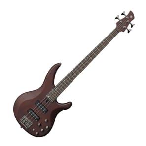 Yamaha TRBX504-TBN 4-String Bass Transparent Brown w/ Rosewood Fretboard