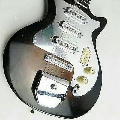 Vintage & Rare Kingston (Teisco) HoundDog Three (3) Pickup Guitar 1960-1970 MIJ for sale