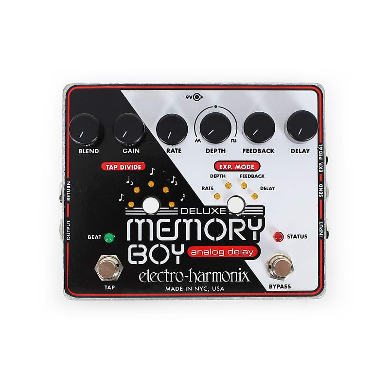 Electro-Harmonix EHX Deluxe Memory Boy Analog Delay Effects Pedal