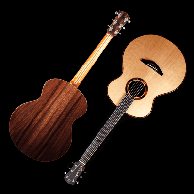 Saville Baritone Model, Carpathian Spruce, Indian Rosewood - VIDEO