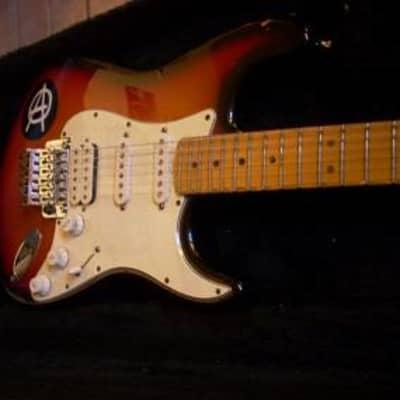 Fender  stratocaster floyd rose series U.S.A. '98 Custom 1998 sunburst for sale