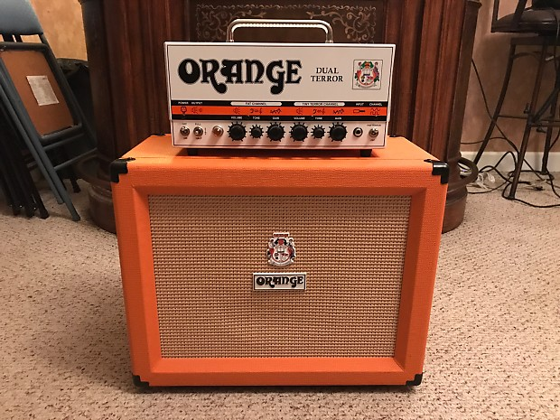 Orange Dual Terror With Orange 1x12 Cabinet Reverb