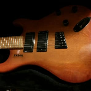 Novax First Full Body Guitar Ever Made By Ralph 1991 Tobacco Burst for sale