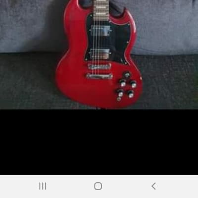 Gear4music  Brooklyn Select Electric Guitar Cherry Red for sale