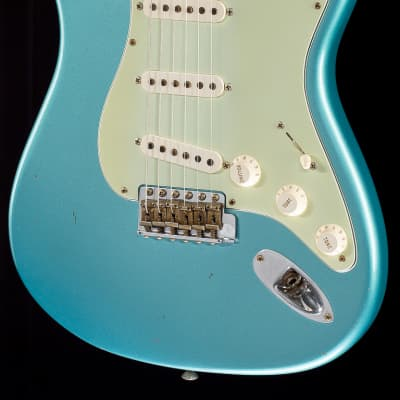 Fender Custom Shop '60s Stratocaster NOS 2009 Relic Teal Green Metallic for sale