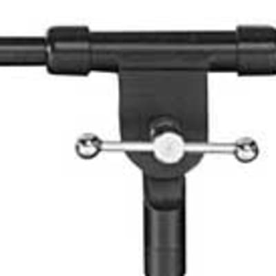 "On-Stage MSA7040TB 19-32"" Telescoping Microphone Boom, Black"