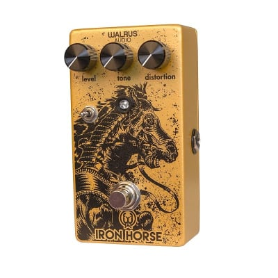 Walrus Audio Iron Horse LM308 Distortion - v2 for sale