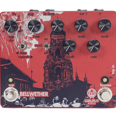 Walrus Audio Bellwether Analog Delay with Tap Tempo Guitar Pedal for sale