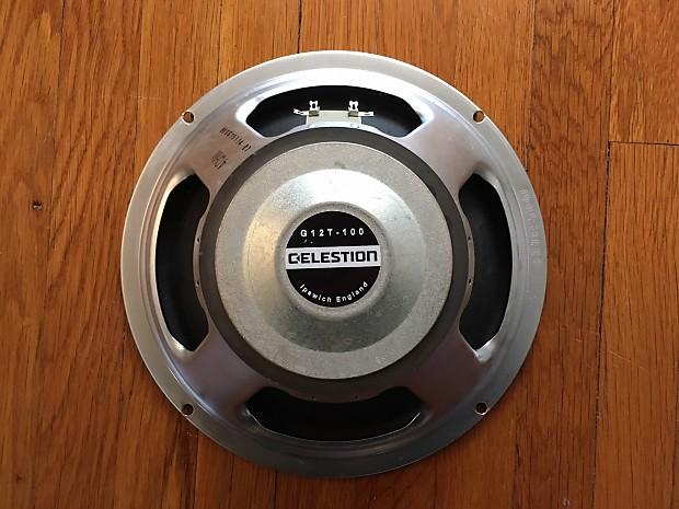 celestion g12t 100 4 ohm 12 speaker reverb. Black Bedroom Furniture Sets. Home Design Ideas