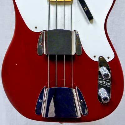 Fender Custom Shop LTD 1955 P BASS Journey Man - Crimson Red - Flame Maple Neck - 8.5 lbs - XN3299 for sale