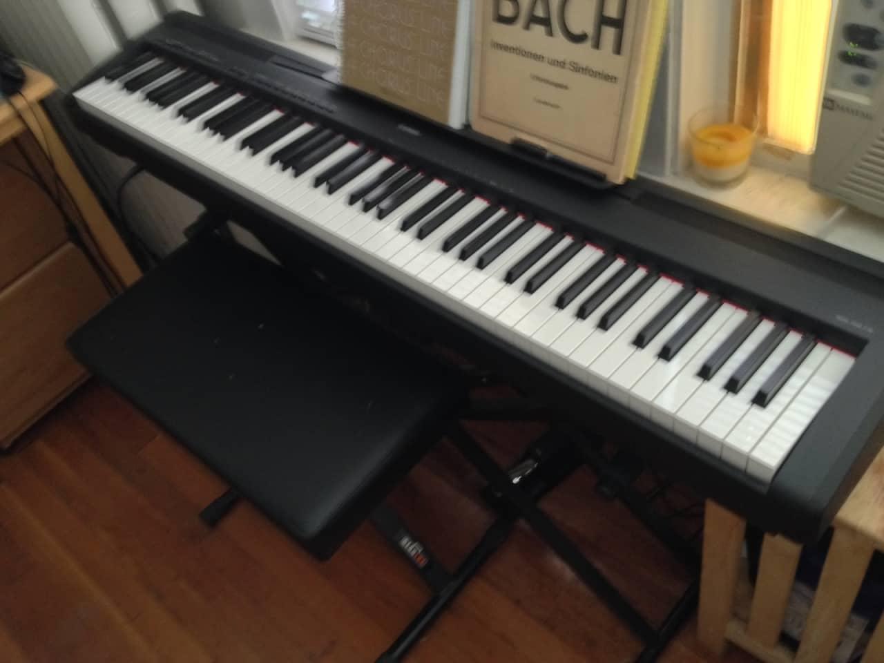 yamaha p 95 digital piano reverb. Black Bedroom Furniture Sets. Home Design Ideas