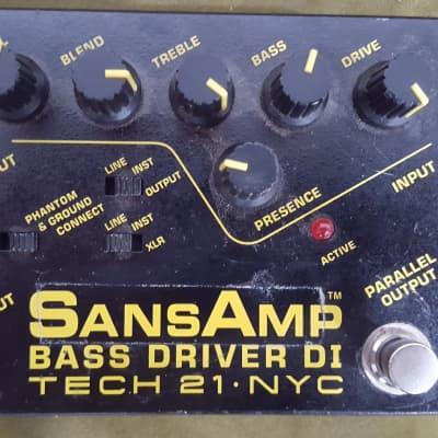 Tech 21 Sansamp Bass Driver D.I.
