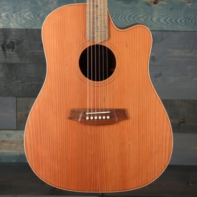 Cole Clark Fat Lady 2 Series FL2EC-RDBL Cutaway Guitar - Redwood/Blackwood for sale