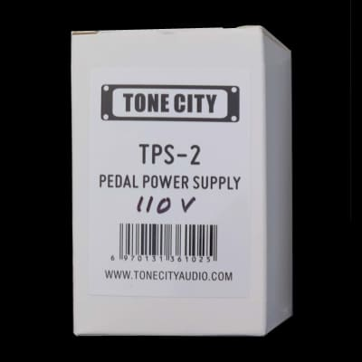 Tone City TPS-2 USA  110V 1A 1000ma Guitar Pedal Power Supply REGULATED, Filtered & Isolated