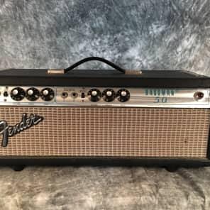 Fender Bassman 50 1974 Silverface Tube Amp Head