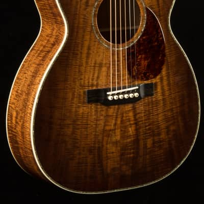 Bourgeois OM-42 Master Figured Koa Sunburst Custom NEW