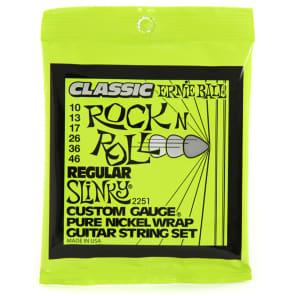 Ernie Ball 2251 Pure Nickel Slinky Electric Guitar Strings (10-46)