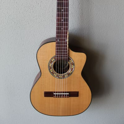 New Paracho Elite Guitars Gonzales Model Requinto with Gig Bag for sale