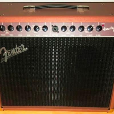 "Fender Acoustasonic 90 2-Channel 90-Watt 1x8"" Acoustic Guitar Amp"