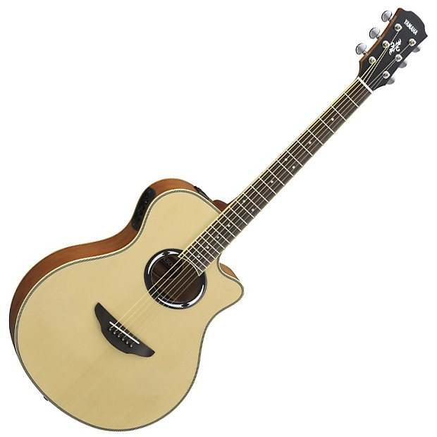 yamaha apx500 iii thinline acoustic electric guitar natural reverb. Black Bedroom Furniture Sets. Home Design Ideas